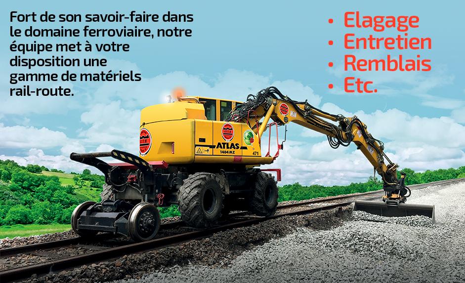 Mise à disposition de gamme de matériels rail-route